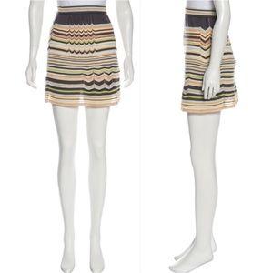 M MISSONI Striped Mini Skirt